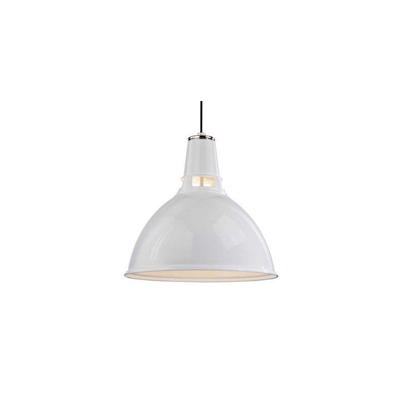 Hudson Valley Lighting 6820 Lydney 1 Light Pendant White Polished