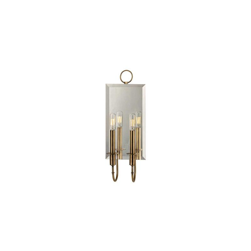 Hudson Valley Lighting 6922 Essex 2 Light Wall Sconce Aged Brass
