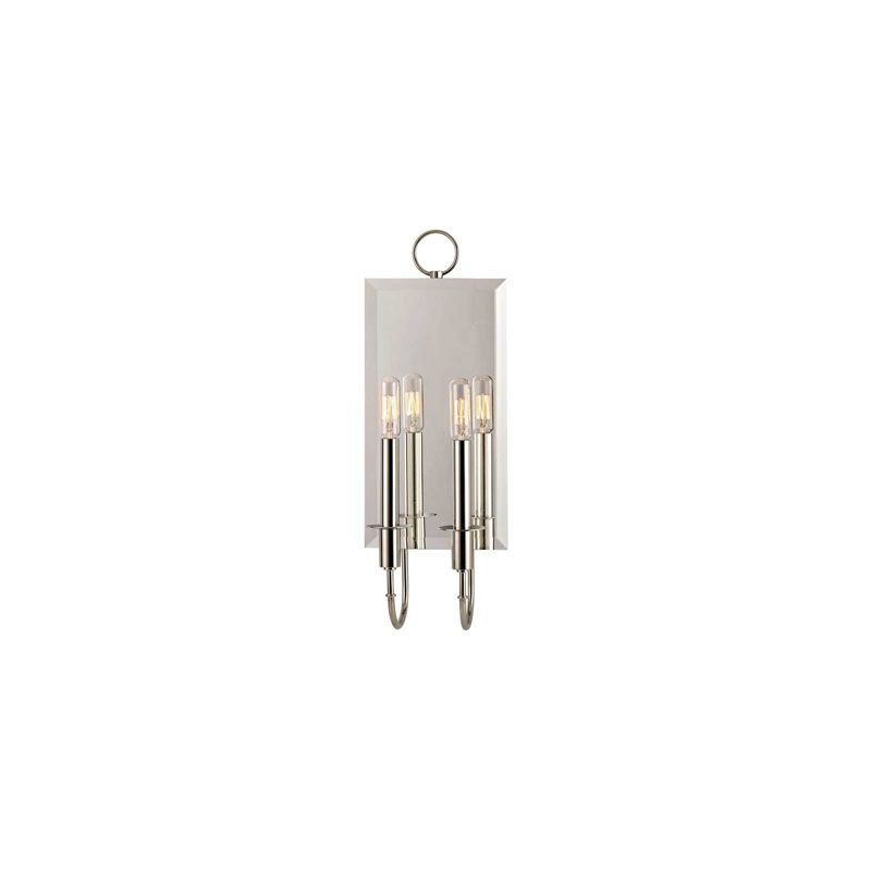 Hudson Valley Lighting 6922 Essex 2 Light Wall Sconce Polished Nickel