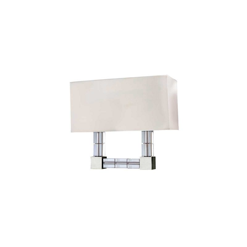 Hudson Valley Lighting 7102 Alpine 2 Light Wall Sconce Polished Nickel