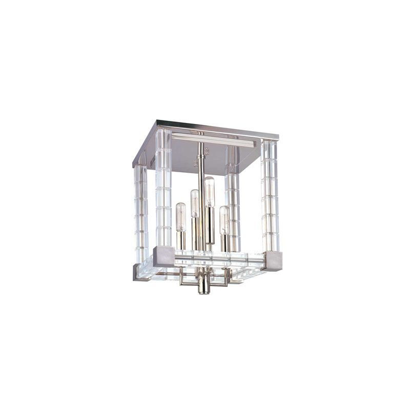 "Hudson Valley Lighting 7112 Alpine 4 Light 11.5"" Width Semi-Flush"