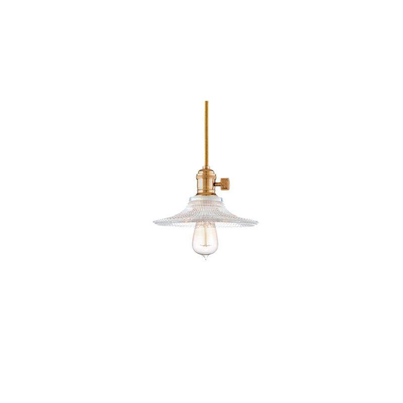Hudson Valley Lighting 8001-GS6 Heirloom 1 Light Pendant Aged Brass