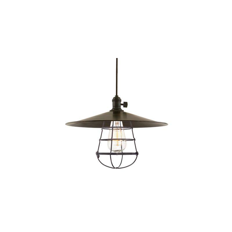 Hudson Valley Lighting 8001-ML1-WG Heirloom 1 Light Pendant Aged Brass