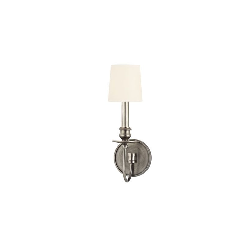 Hudson Valley Lighting 8211 Cohasset 1 Light Cast Brass Wall Sconce Sale $236.00 ITEM#: 2063391 MODEL# :8211-AS-WS UPC#: 806134147082 :