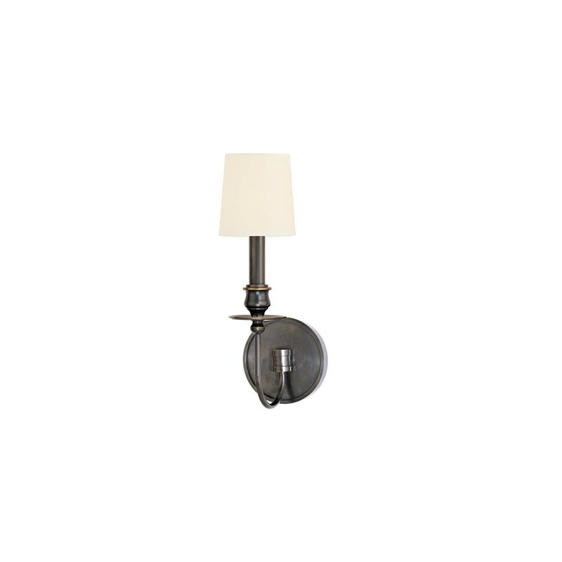 Hudson Valley Lighting 8211 Cohasset 1 Light Cast Brass Wall Sconce Sale $236.00 ITEM#: 2063393 MODEL# :8211-OB-WS UPC#: 806134147099 :