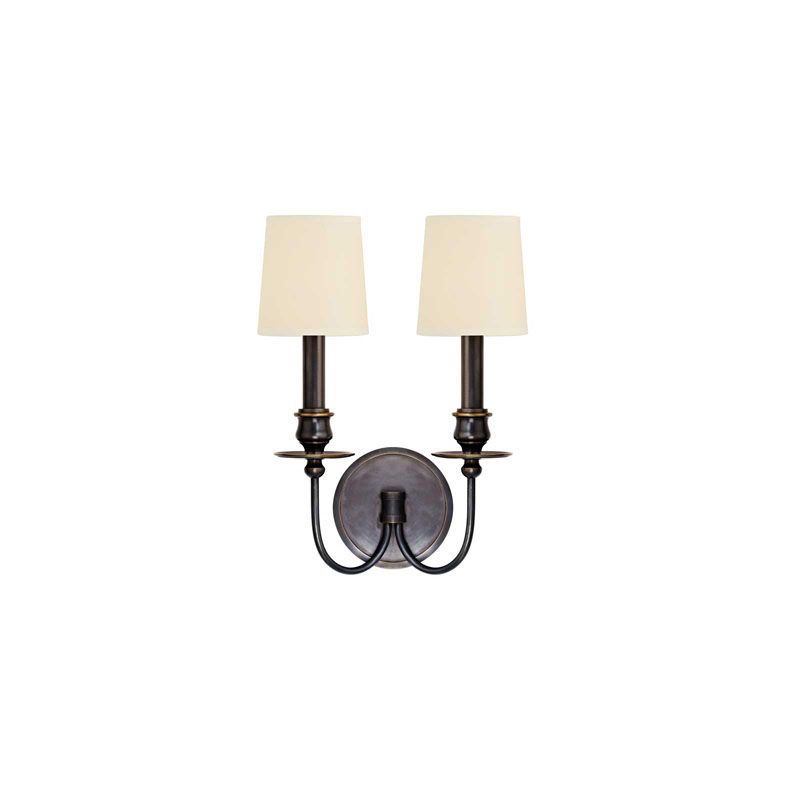 Hudson Valley Lighting 8212 Cohasset 2 Light Wall Sconce Old Bronze