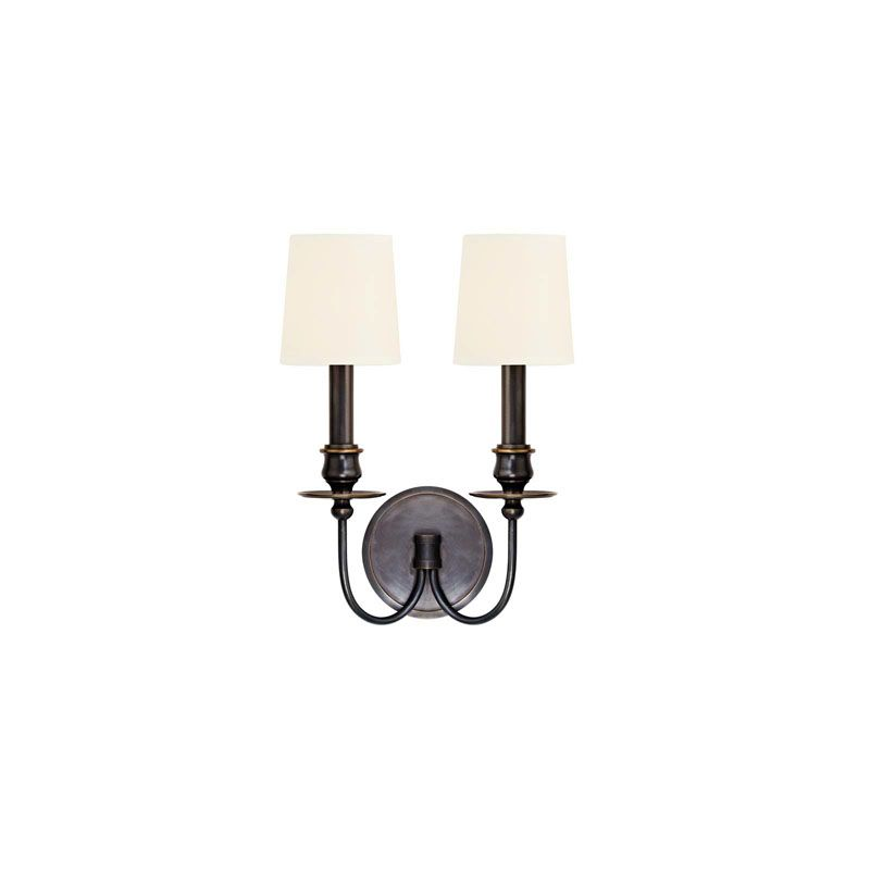 Hudson Valley Lighting 8212 Cohasset 2 Light Wall Sconce Old Bronze /