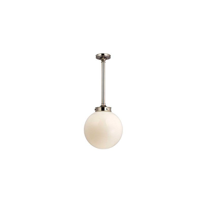 Hudson Valley Lighting 8817 Concord 1 Light Pendant Polished Nickel