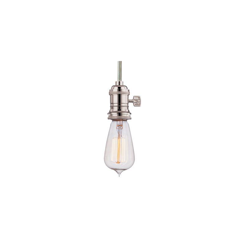 Hudson Valley Lighting 9001 Heirloom 1 Light Pendant Aged Brass Indoor