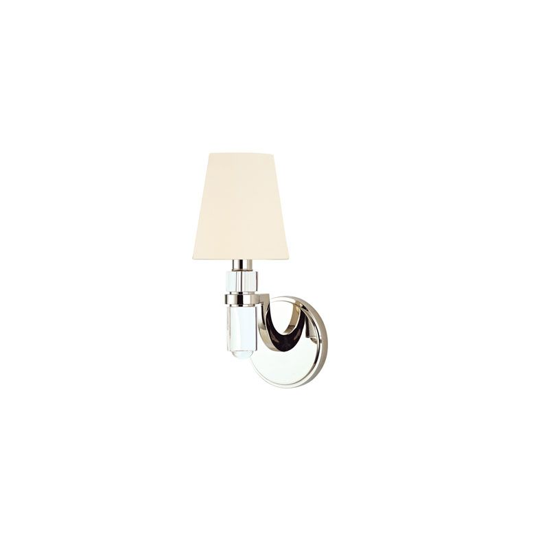Hudson Valley Lighting 981 Dayton 1 Light Wall Sconce Polished Nickel