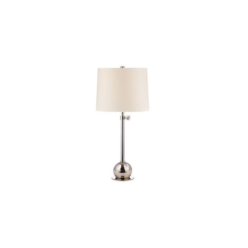 Hudson Valley Lighting L114 Marshall 1 Light Table Lamp Polished Sale $299.00 ITEM#: 2063534 MODEL# :L114-PN-WS UPC#: 806134147266 :