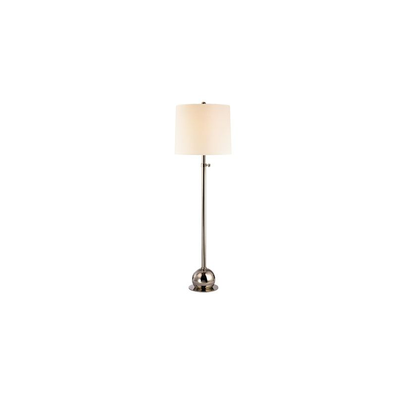 Hudson Valley Lighting L116 Marshall 1 Light Floor Lamp Polished Sale $479.00 ITEM#: 2063540 MODEL# :L116-PN-WS UPC#: 806134147297 :