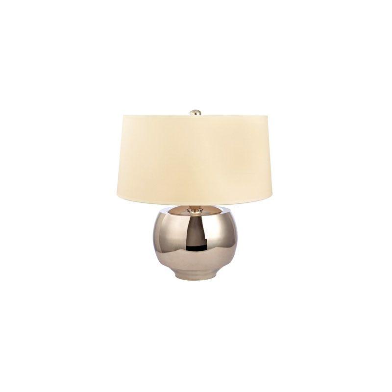 Hudson Valley Lighting L164 Holden 1 Light Table Lamp Polished Nickel