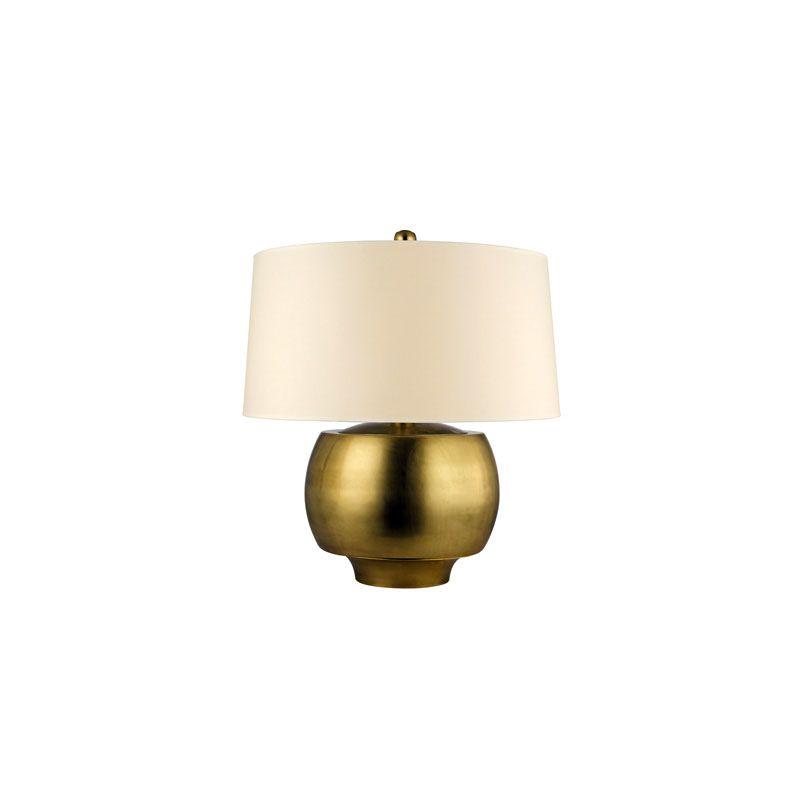 Hudson Valley Lighting L166 Holden 1 Light Table Lamp Aged Brass Lamps