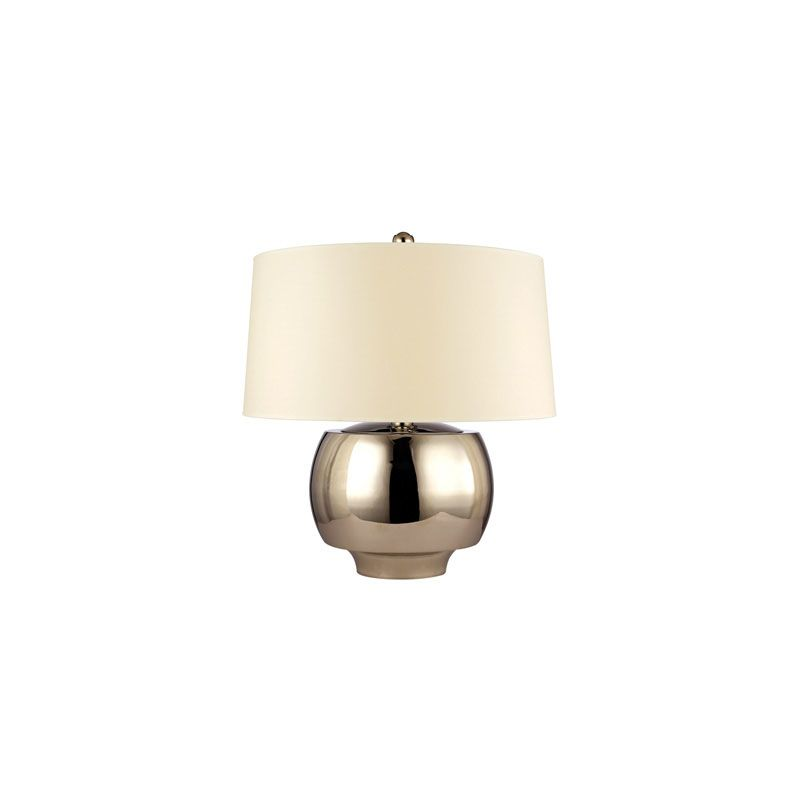 Hudson Valley Lighting L166 Holden 1 Light Table Lamp Polished Nickel