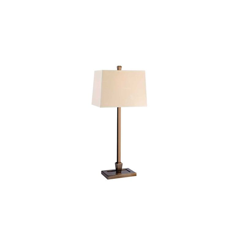 Hudson Valley Lighting L227 Burke 1 Light Table Lamp Brushed Bronze /