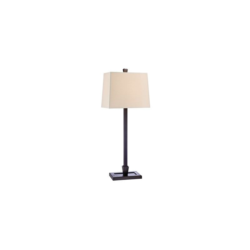 Hudson Valley Lighting L227 Burke 1 Light Table Lamp Old Bronze /