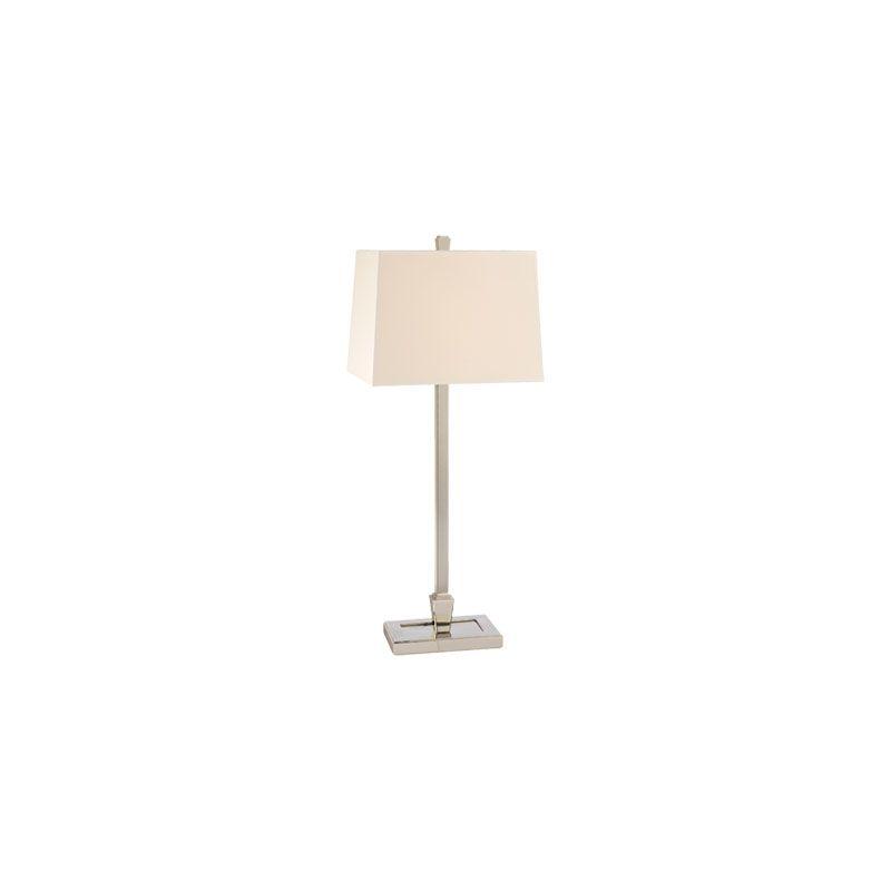 Hudson Valley Lighting L227 Burke 1 Light Table Lamp Polished Nickel Sale $399.00 ITEM#: 2063569 MODEL# :L227-PN UPC#: 806134138240 :