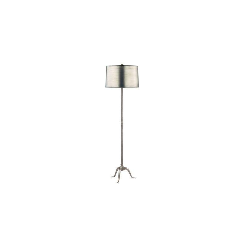 Hudson Valley Lighting L816 Burton 1 Light Floor Lamp Aged Silver /
