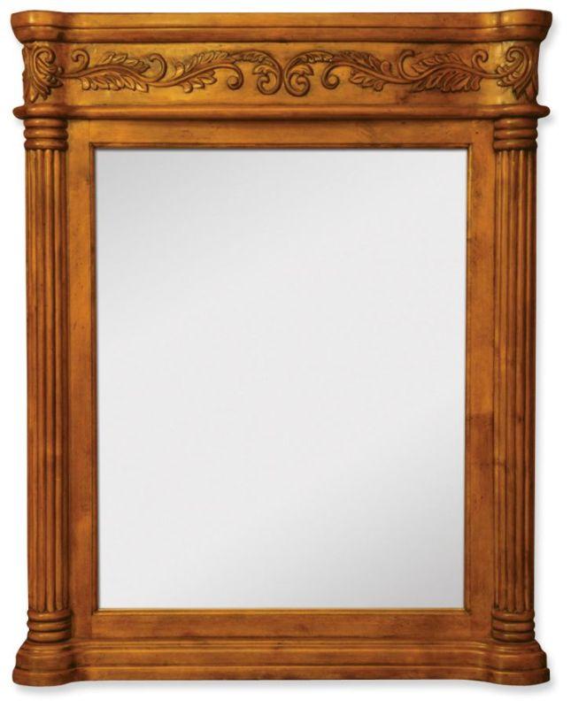 Jeffrey Alexander MIR012 Burled Collection Rectangular 33-11/16 x 42