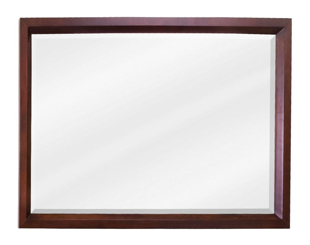 Jeffrey Alexander MIR067-D Mahogany Collection Rectangular 42 x 28