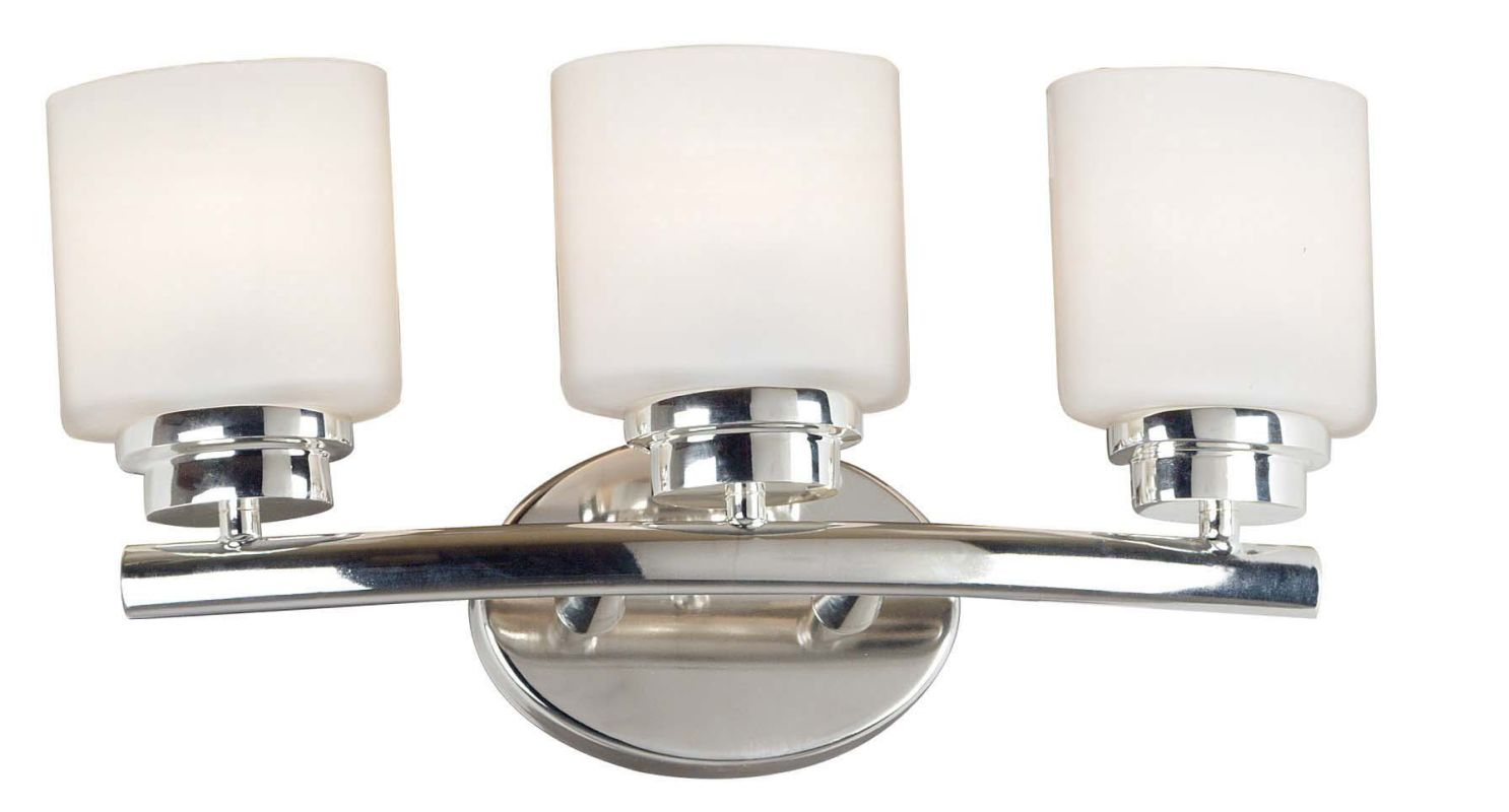 Sea Gull Lighting 39035ble962 Brushed Nickel Reversible Three Light Fluorescent Up Down