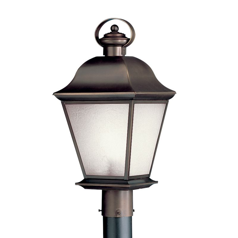 Kichler 10911oz Olde Bronze Post Lights Kichler 10911 Mount Vernon Fluorescent Outdoor Post Light