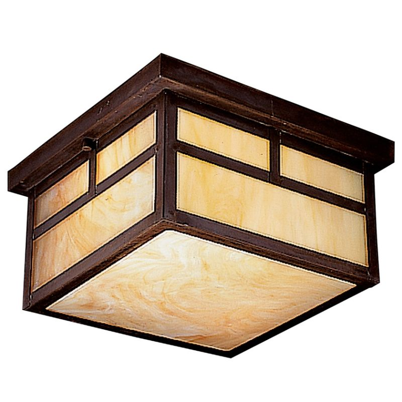 Kichler 10957 Energy Star Rated Two Light Outdoor Ceiling Fixture from