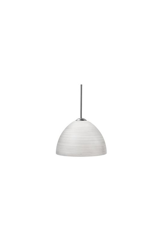 LBL Lighting Clay II Single Light Dome-Shaped Mini Pendant for