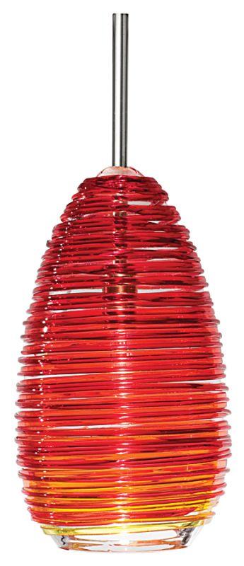 LBL Lighting Vortex Single Light Elliptical-Shaped Mini Pendant for Sale $265.50 ITEM#: 1085980 MODEL# :HS235RD :