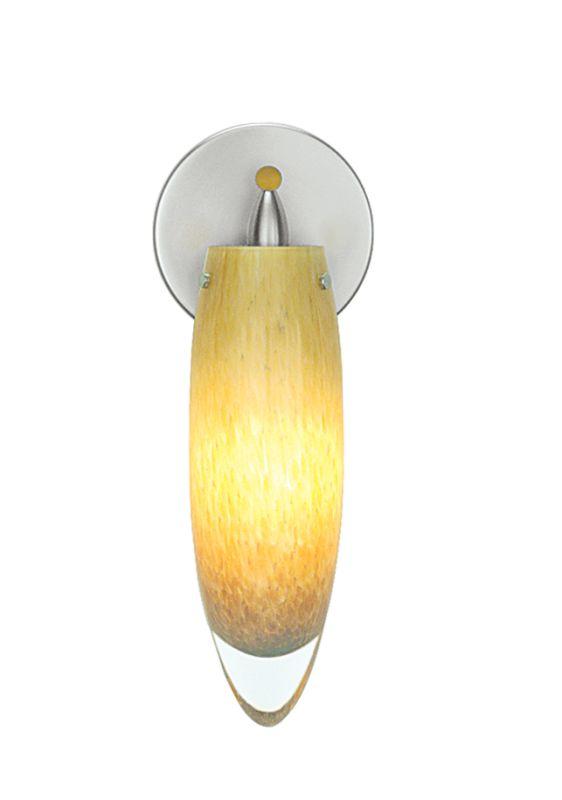 LBL Lighting Icicle Wall Single Light Down Lighting Wall Sconce Amber