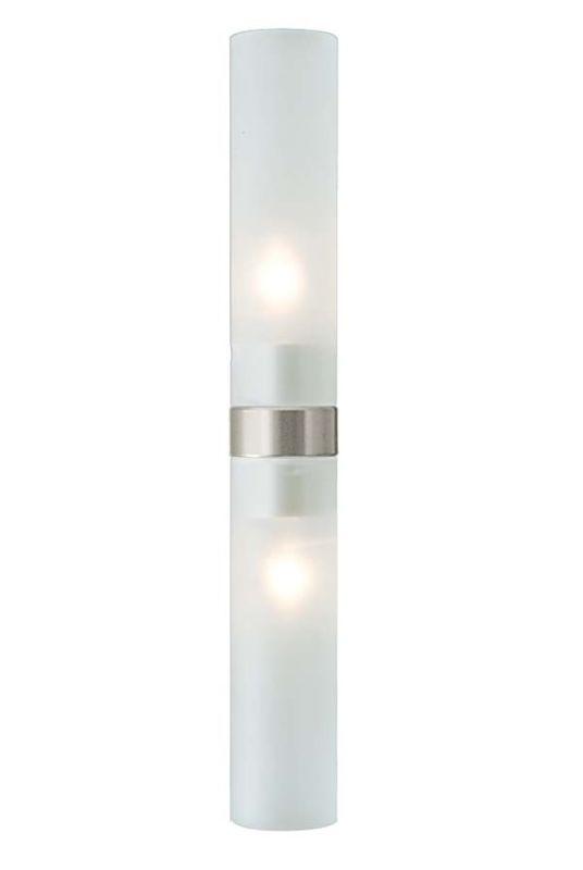 LBL Lighting Twin Tube / Cube Bath Head Two Light Up / Down Lighting