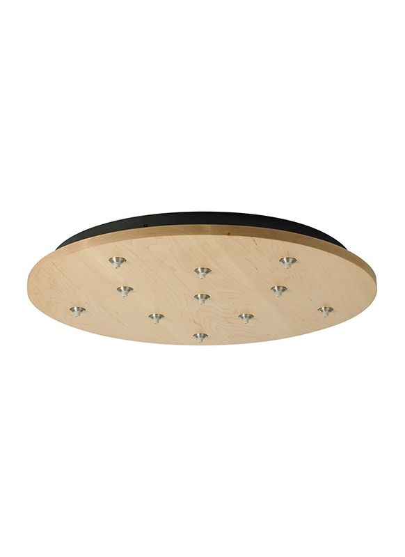 LBL Lighting 11 Light Round Fusion Jack Canopy Accessory Satin Nickel Sale $771.20 ITEM#: 2040390 MODEL# :CK011BD-FJ-MASC :