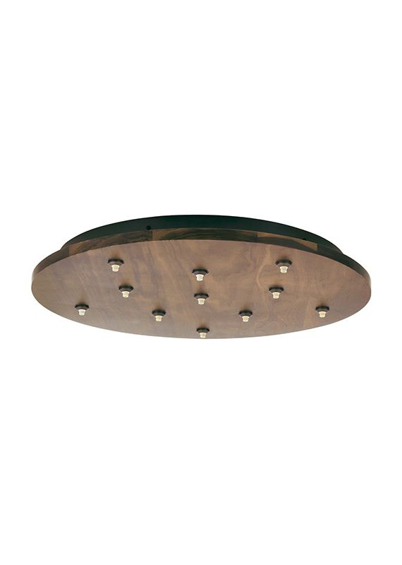 LBL Lighting 11 Light Round Fusion Jack Canopy Accessory Bronze /