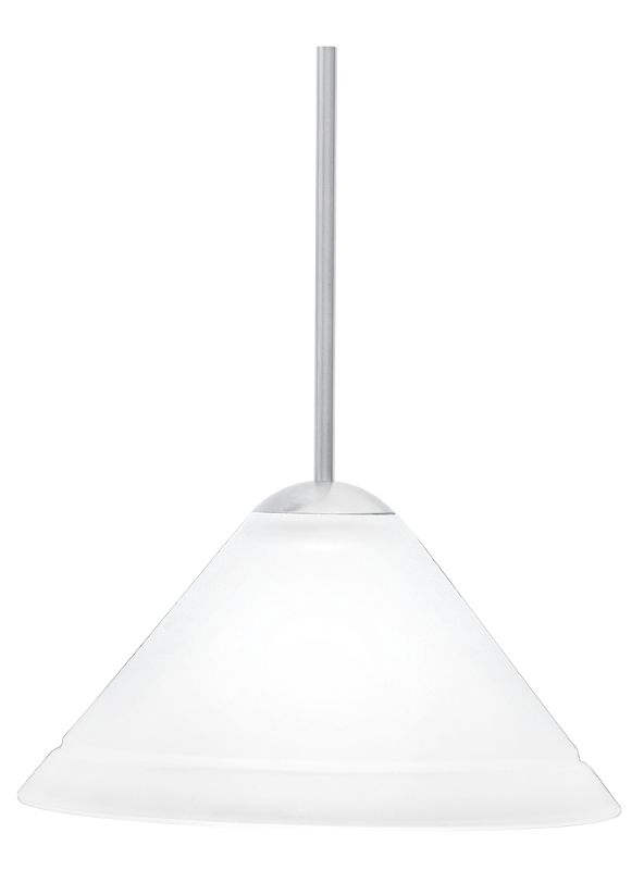 LBL Lighting Nube 214 Coax Single Light Cone-Shaped Mini Pendant for