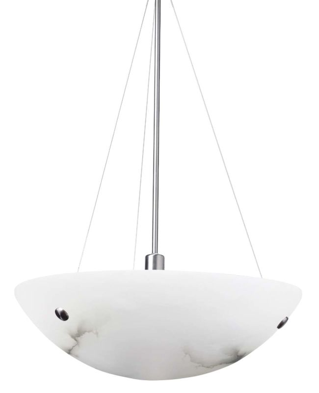 LBL Lighting Hemisphere Grande Compact Fluorescent Suspension Three Sale $1764.00 ITEM#: 1102405 MODEL# :PF436AL :
