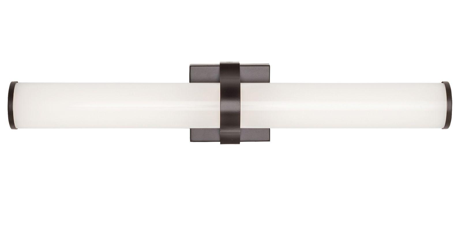 """LBL Lighting BA914OYLED930 Lynk 24"""" Wide LED Bath Bar - ADA Compliant Sale $168.00 ITEM#: 2869630 MODEL# :BA914OYBZLED930 :"""