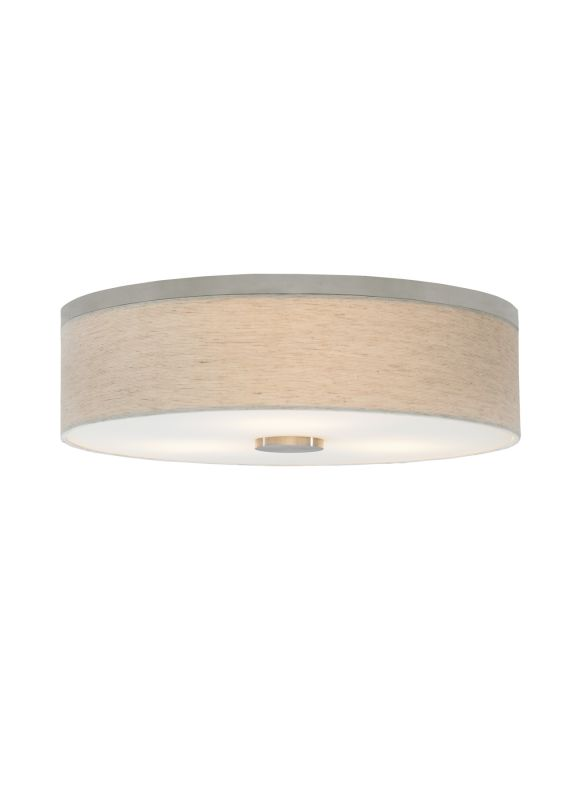 LBL Lighting Fiona 18 CFL Plugin 120V 3 Light Flush Mount Ceiling Sale $560.80 ITEM#: 2340782 MODEL# :FM700LISCCF1HE :
