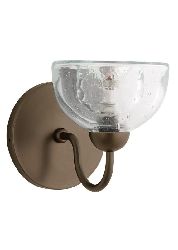 LBL Lighting HW266AM Sophia Halogen Wall Sconce with Textured Amber