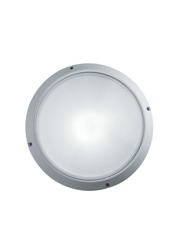 LBL Lighting Superdelta Tondo 1 Light Outdoor Medium Wall Light White