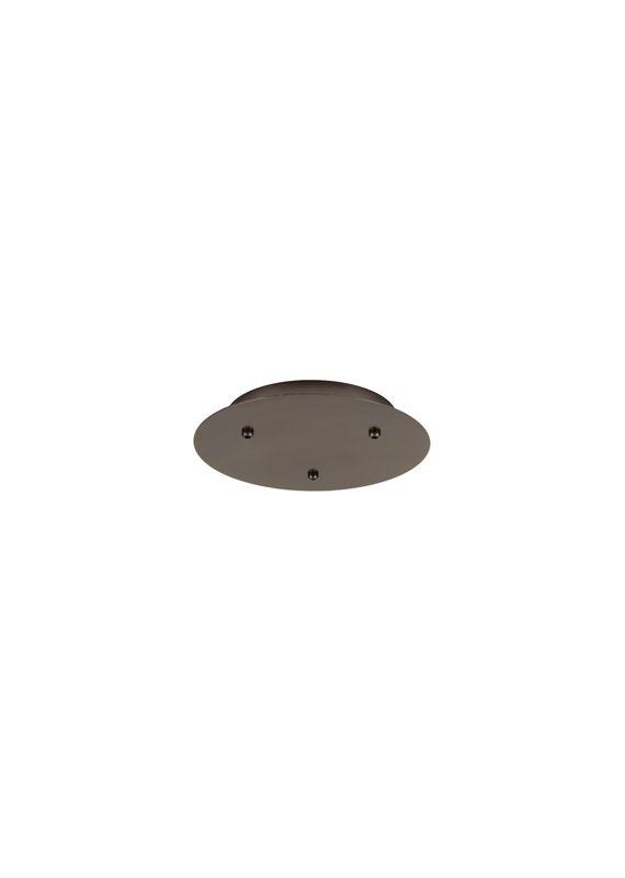 LBL Lighting 3 Round 277V/12V LED Fusion Jack 3 Light Canopy - Sale $218.40 ITEM#: 2034888 MODEL# :CK003B-FJ-BZ-LED277 :