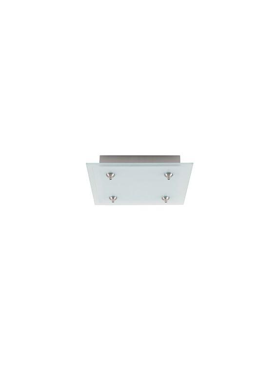 LBL Lighting 4 Square 120V/12V LED Fusion Jack 4 Light Canopy - Sale $223.20 ITEM#: 2034932 MODEL# :CK004S-FJ-SC-LED :