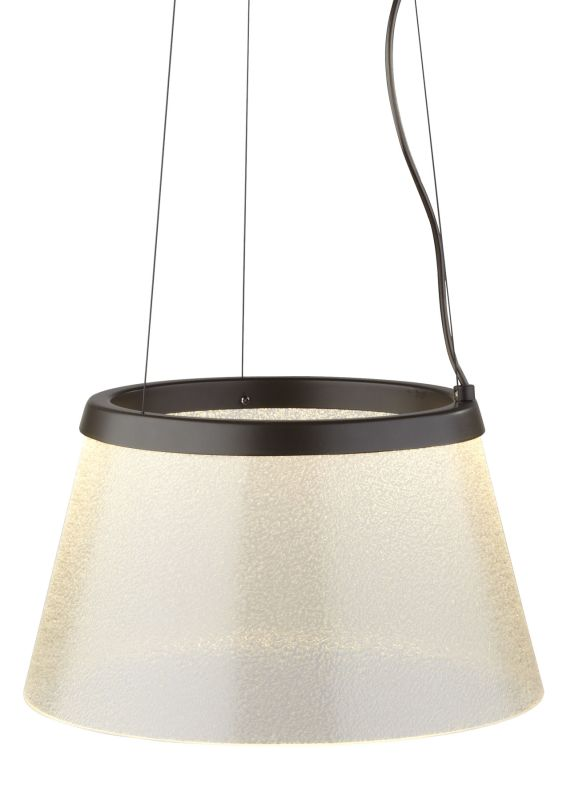 LBL Lighting Duke Fizz LED Suspension Light Bronze Indoor Lighting