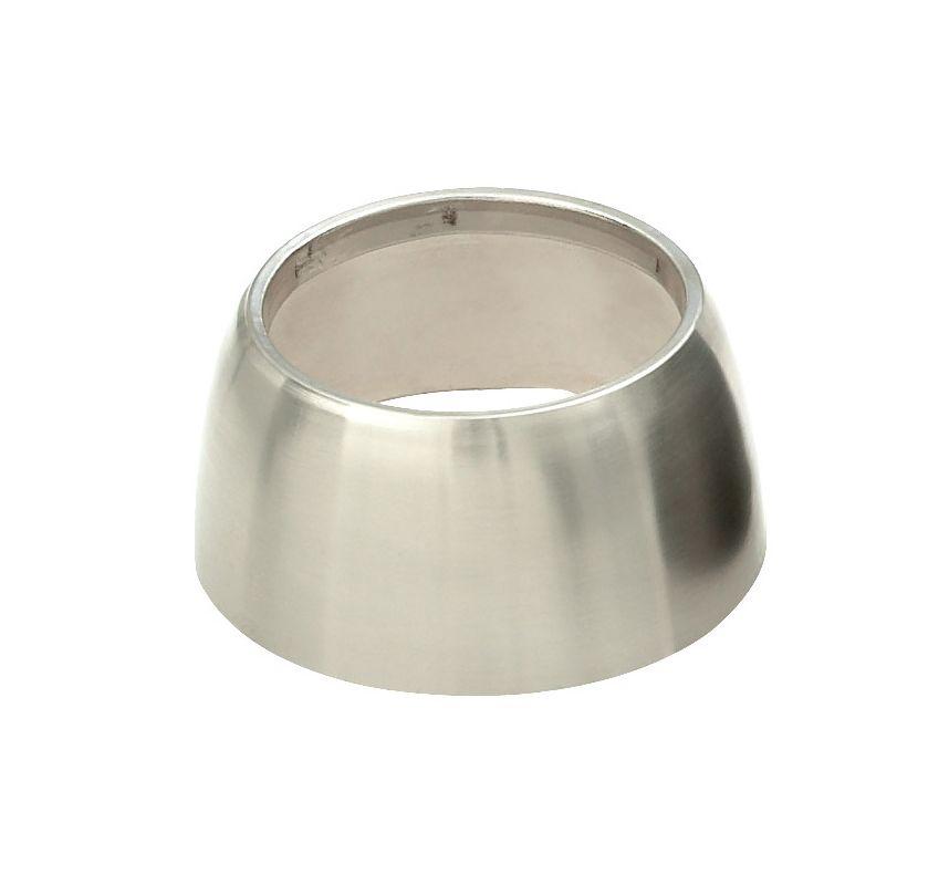 LBL Lighting Modo Metal Shield Accessory Shade Satin Nickel Indoor