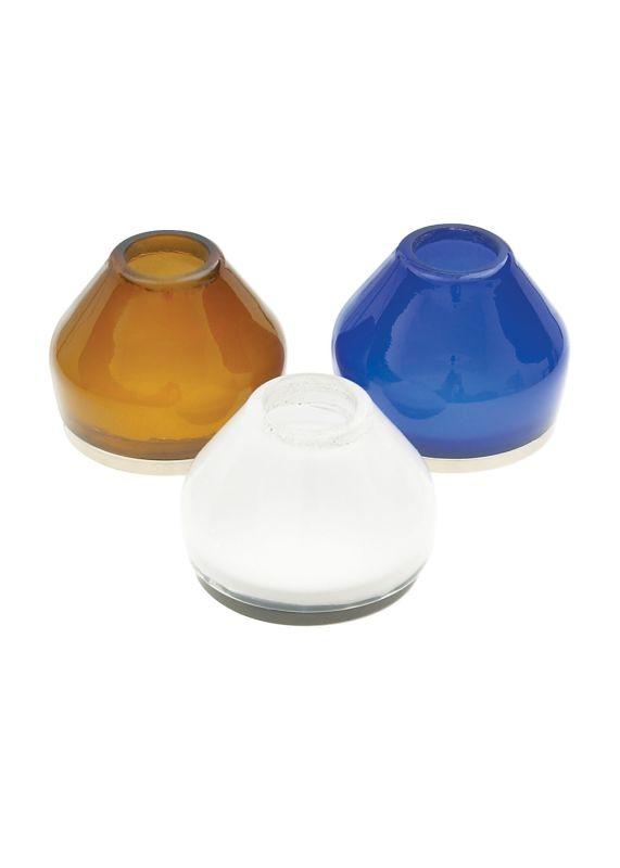 LBL Lighting Voti Accessory Blue Shade Blue / Satin Nickel Indoor