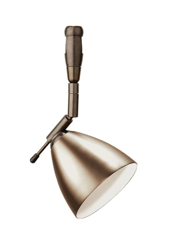 LBL Lighting Orbit Swivel I 50W Fusion Jack 1 Light Track Head Bronze