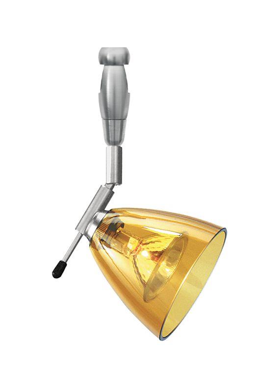 LBL Lighting Mini-Dome I Swivel I Amber LED Fusion Jack 1 Light Track