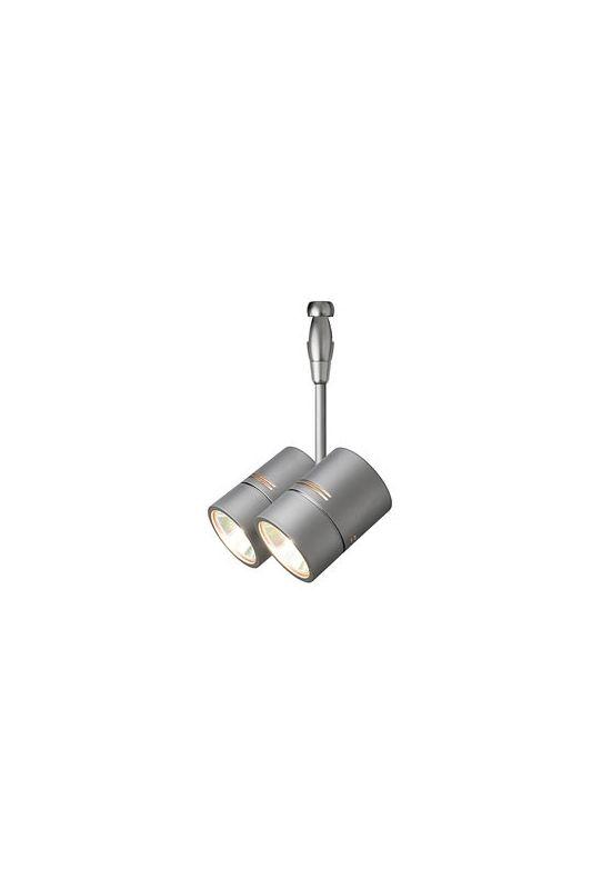 LBL Lighting HE382 FSJ Fusion Jack Twin Spot Swivel Head Satin Nickel Sale $130.50 ITEM#: 1835718 MODEL# :HE382SC061A35FSJ :