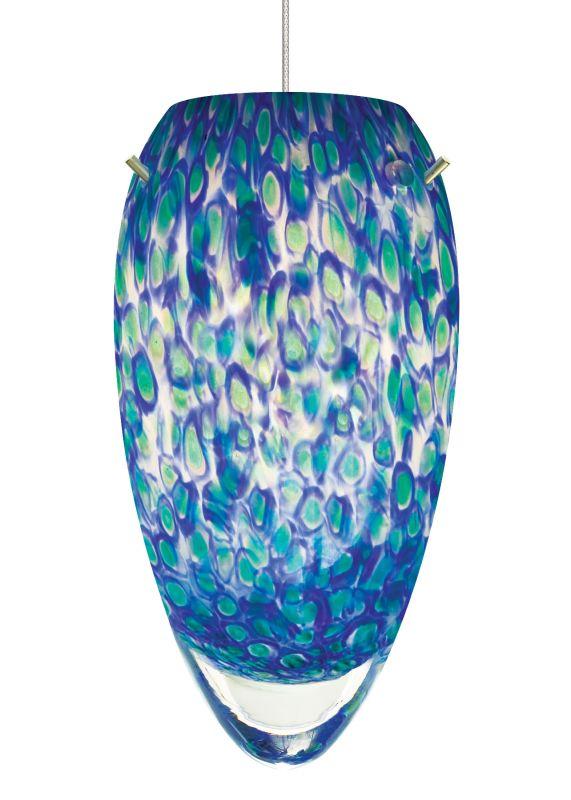 LBL Lighting Sam Blue-Green 50W Monopoint 1 Light Track Pendant Satin Sale $384.00 ITEM#: 2036427 MODEL# :HS228BUSC1B50MPT :