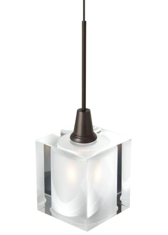 LBL Lighting Rocks Monopoint 1 Light Track Pendant Bronze Indoor